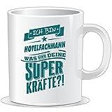 getshirts - RAHMENLOS® Geschenke - Tasse - Superpower Hotelfachmann - petrol - uni uni