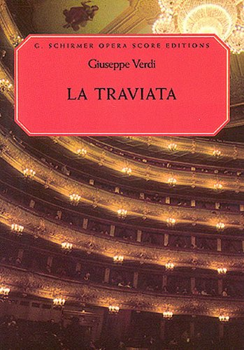 Giuseppe Verdi: la Traviata (Vocal Score)