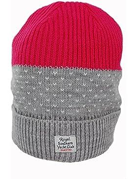 Gaastra Damen Mütze Beanie Atomic grau/pink