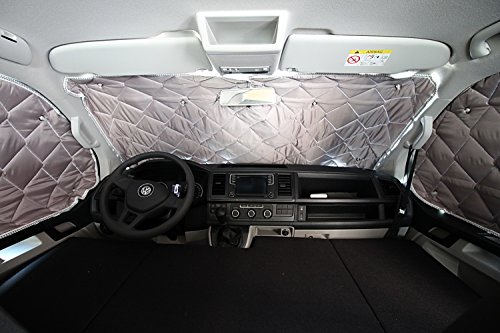 Preisvergleich Produktbild Freizeit Wittke Easy Camper Germany Kinderbett VW T5 / T6 Multivan mit Scheibensichtschutz / Thermomatte Set