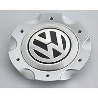 Originale VW T5Transporter Multivan Touareg mozzo ruota, dei mozzi coperchio mozzo cerchioni cerchioni in alluminio argento 7h0071214