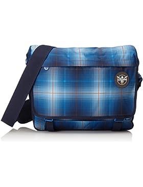 Chiemsee Unisex Umhängetasche Schultertasche Shoulderbag, Messenger Bag Tasche, Plaid Blazing