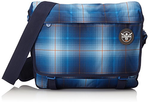 Chiemsee Umhängetasche  Shoulderbag, Plaid Regatta, 39 x 13 x 28 cm, 15 Liter, 5011015 (Plaid Umhängetasche)