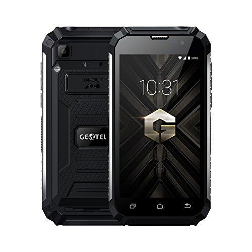artphone, Android 7.0 Quad Core 2GB+16GB, 7500mAh, Kamera 8MP+2MP, Doppel SIM, Machtbank Entsperrt Handy, Schwarz ()
