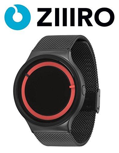 ziiiro-watch-eclipse-metallic-black-red