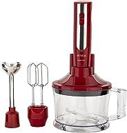 Arnica Master Cook Kırmızı El Blender Seti