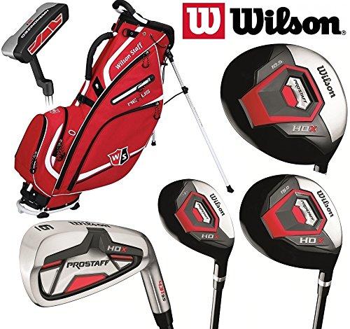 wilson-prostaff-hdx-set-completo-da-golf-bastoni-con-canna-in-grafite-e-borsa-con-supporto-da-uomo-m
