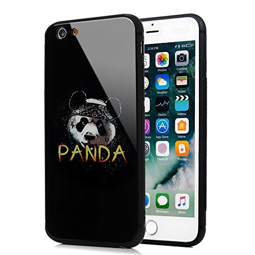 iPhone 6 Plus/ 6s Plus Cover Vetro, Yokirin Cover Protettiva Vetro Temperato Anziano Premium Custodia per iPhone 6 Plus…