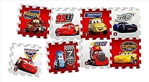 Knorrtoys 21013-Puzzle Matte-Cars-Race of a Lifetime 8Alfombrillas (16Piezas)