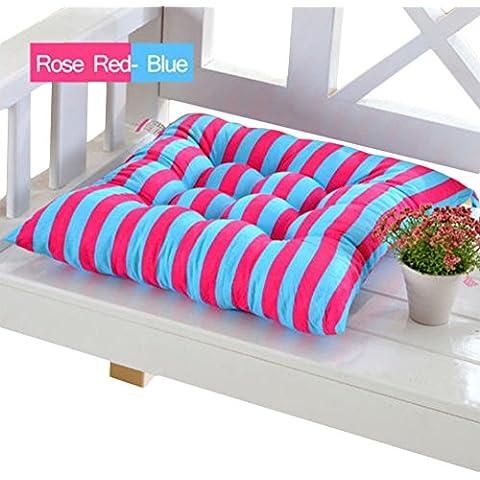 Striped Sedia cuscini cuscini Rosso