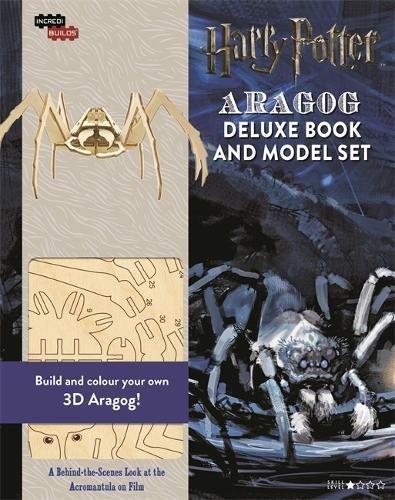 Incredibuilds-Aragog. Deluxe Book & Model Set (Harry Potter)