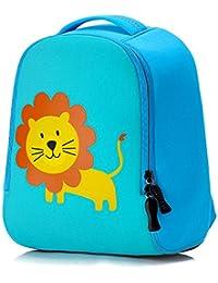 Minetom Backpack La Mochila De Jardín De Infantes Embroma La Bolsa De La Escuela Escuela Animal Lindo Niños Bebés Niñas Pequeños Impermeable 2-6 Edad