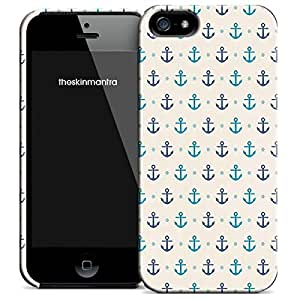 Theskinmantra Anchor design back cover for Apple iPhone 5S