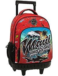 Maui Beach Mochila Escolar, 31.65 Litros, Color Rojo