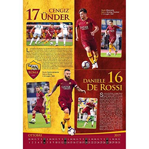 As Roma Calendario.Calendario As Roma 2019 Ufficiale 29 X 42 Cm