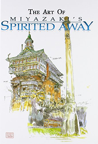 The Art of Spirited Away por Hayao Miyazaki