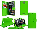 PIXFAB For Alcatel One Touch Pop 4 5051X New Green Leather