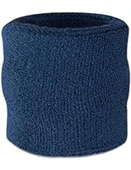 suddora poignet éponge–Coton Athlétique Sport Bracelet en Tissu éponge Pour