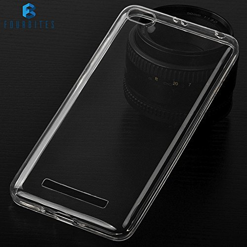 FOUR BITES Redmi 4A 1.2 mm Thin Silicone TPU Transparent Premium Clear Full Protection Exclusive Soft Back Case Cover For Xiaomi Mi Redmi 4A  available at amazon for Rs.99