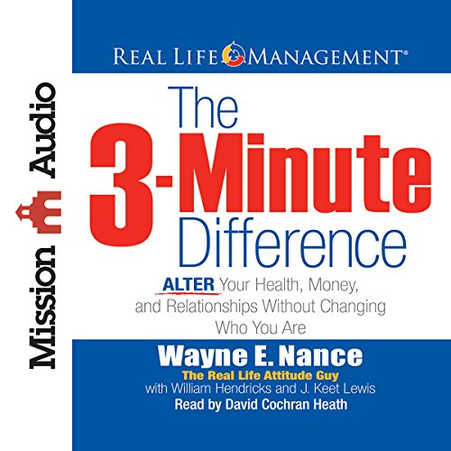 The 3-Minute Difference  Audiolibri