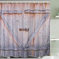 Porta in legno Tenda della doccia, stampa