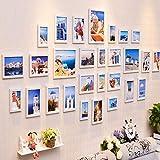 LXJYMXFoto Wand Einfache Moderne Wohnzimmerfotowanddekorationfotorahmenwand europäischer Fotorahmenfotorahmen kreatives Wandkombinationsstückhängen (Farbe : D)