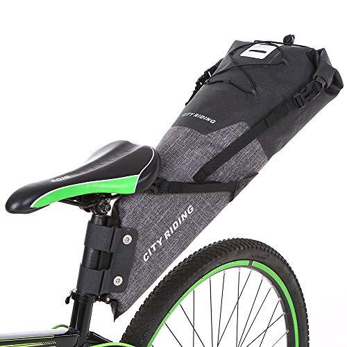 Lixada 12-14L Fahrrad Große Satteltasche Radfahren Rear Seat Bag Wasserdichte Radfahren Rear Seat...