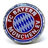 FC Bayern München Pin / Button / Anstecker FCB - plus gratis Aufkleber forever München