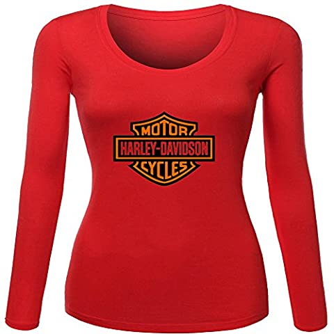 Harley Davidson Printed For Ladies Womens Long Sleeves Outlet