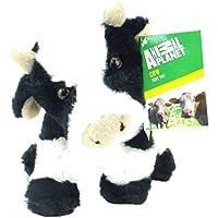 Animal Planet Animales de Granja - 17cm Vaca Suave Peluche de Juguete