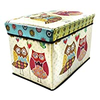 Sterling Home Innovators presents large storage ottomans for kids which combine decor and function and utilizes nursery space efficiently. Made from premium quality MDF and luxurious PU Leatherette, these ottomans come with sturdy design and comforta...