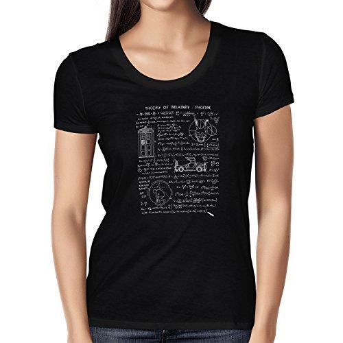 TEXLAB - Theory of Relativity - Damen T-Shirt, Größe S, (S Kostüm Darko)