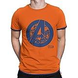 Best AVENGERS For Men - Silly Punter Official Avengers: Character Logo Men's Cotton Review