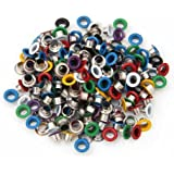 200X Remaches Metal Redondo 9mm Colores Tachuelas Studs Bolsa/Calzado/Guante