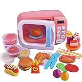 Domestici da cucina Giocattoli Play House giocattolo per i bambini a microonde Stoviglie Giocattoli Piccolo
