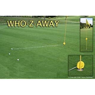 WhoZaway Golf Proximity Tape Measure W/ Cards