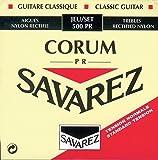 Savarez 500PR Jeu de cordes pour Guitare classique Cristal Corum