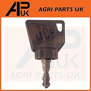 APUK JCB 1 x Ignition Switch Key for 3CX Digger Plant Bomag Manitou Starter Keys