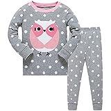 Best Outfit Sets For Girls - Girls Cute Owl Pyjamas Set Children Kids Long Review