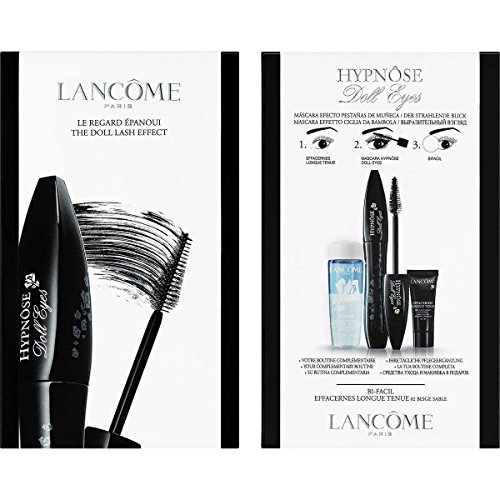 Lancôme Make-up Augen Geschenkset Hypnôse Doll Eyes Nr. 01 So Black! 6,5 ml + Effacernes Longue Tenues Nr. 02 Beige Sable 5 ml + Bi-Facil 30 ml 1 Stk.