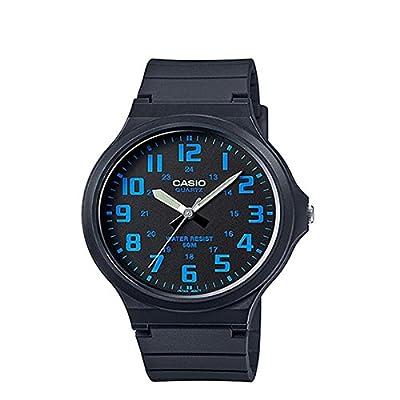 Casio Collection Reloj Analógico de Cuarzo para Hombre con Correa de Resina – MW-240