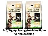 Applaws Katzenfutter Hühnchen | 2x 7,5 kg getreidefrei