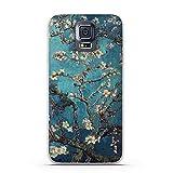 Qinddoo TPU Étui Souple pour Samsung Galaxy S5 Téléphone Cas Cas de Silicone pour Samsung Galaxy S5 Couverture 3D Relief Peinture Fond d'écran pour Samsung S5,20