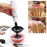 Mailin herramienta eléctrico de limpieza cepillo maquillaje para lavadora y essorer de los pinceles de maquillaje 360grados rotación Makeup Brushes Cleaner