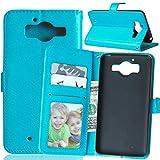 Jepson Nokia Microsoft Lumia 950 (5 pouces) Coque PU Cuir Flip Housse Étui Cover Case Wallet Stand avec Carte de Crédit Fentes pour