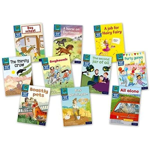 Read Write Inc. Phonics Book Bag Books: Blue Set 6 Storybooks ...