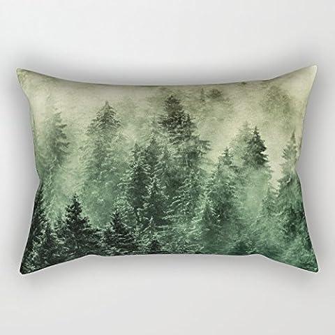 uloveme 12x 20Inches/30por 50cm Mountians bosque pillowcover, dos lados adorno y regalo para Oficina, Sofá, Pub, Play habitación, monther, Teens