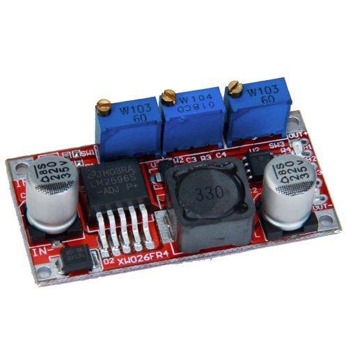 regulable Actualizado LM DC-DC Converter 2596 Buck bajada Modulo Regulador de la fuerza SODIAL R
