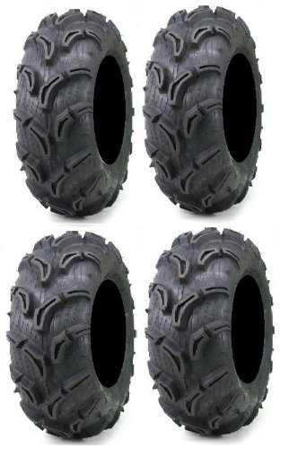 Full Set von MAXXIS Zilla 27x 9–12und 27x 11–12ATV Mud Reifen (4) POWERSPORTS Bundle