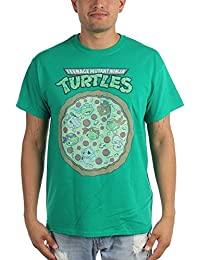Teenage Mutant Ninja Turtles - Herren-Pizza-T-Shirt